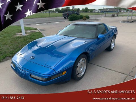 1993 Chevrolet Corvette for sale at S & S Sports and Imports in Newton KS