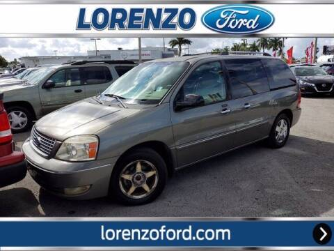 2006 Ford Freestar for sale at Lorenzo Ford in Homestead FL