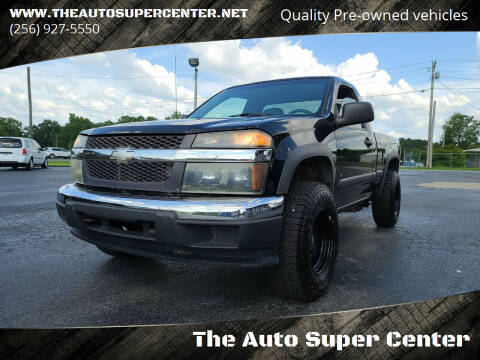 2006 Chevrolet Colorado for sale at The Auto Super Center in Centre AL