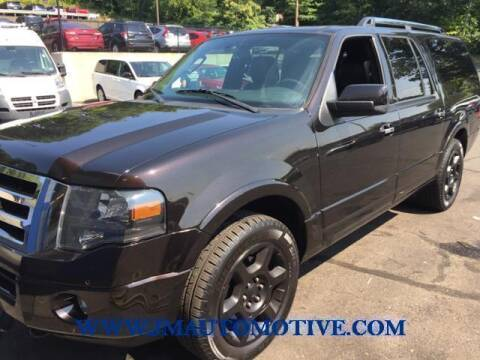 2013 Ford Expedition EL for sale at J & M Automotive in Naugatuck CT