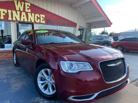 2016 Chrysler 300 for sale at Caspian Auto Sales in Oklahoma City OK