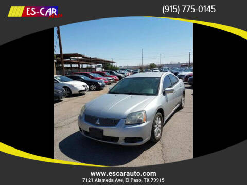 2012 Mitsubishi Galant for sale at Escar Auto in El Paso TX
