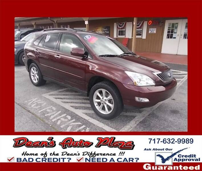 2009 Lexus RX 350 for sale at Dean's Auto Plaza in Hanover PA