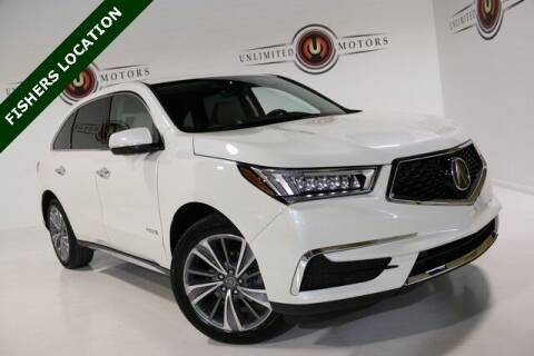 2017 Acura MDX for sale at Unlimited Motors in Fishers IN