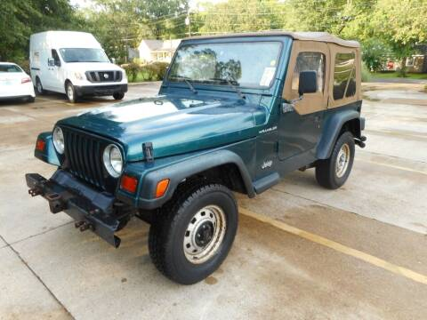 1997 Jeep Wrangler for sale at Cooper's Wholesale Cars in West Point MS