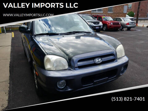 2006 Hyundai Santa Fe for sale at VALLEY IMPORTS LLC in Cincinnati OH