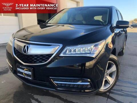 2014 Acura MDX for sale at European Motors Inc in Plano TX