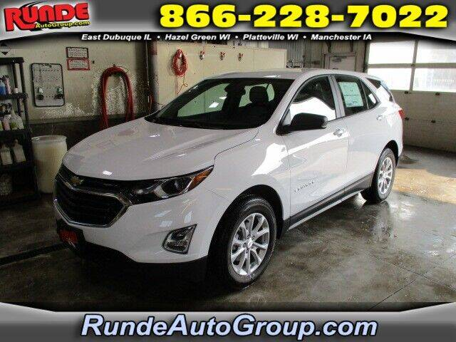2020 Chevrolet Equinox for sale at Runde Chevrolet in East Dubuque IL