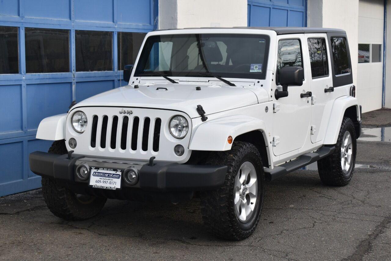 2015 Jeep Wrangler Unlimited Sahara 4×4 4dr SUV