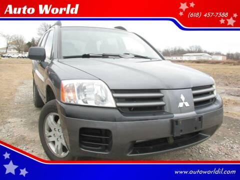 2004 Mitsubishi Endeavor for sale at Auto World in Carbondale IL