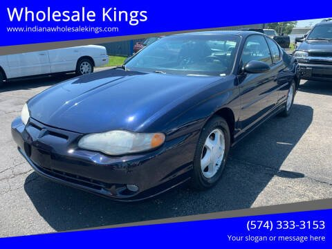 2001 Chevrolet Monte Carlo for sale at Wholesale Kings in Elkhart IN