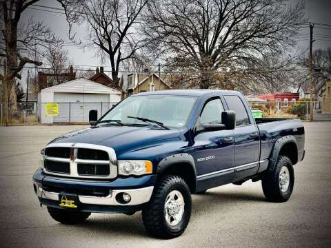 2005 Dodge Ram Pickup 2500 for sale at ARCH AUTO SALES in St. Louis MO