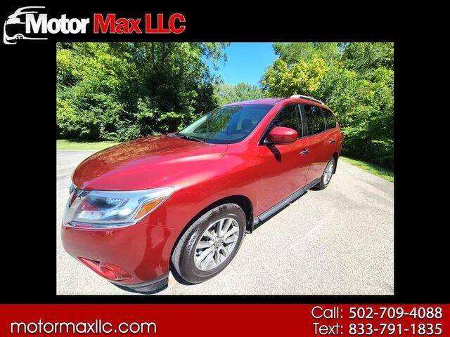 2013 Nissan Pathfinder for sale at Motor Max Llc in Louisville KY