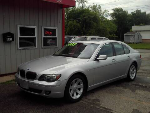 2008 BMW 7 Series for sale at Midwest Auto & Truck 2 LLC in Mansfield OH