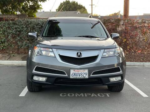 2011 Acura MDX for sale at CARFORNIA SOLUTIONS in Hayward CA