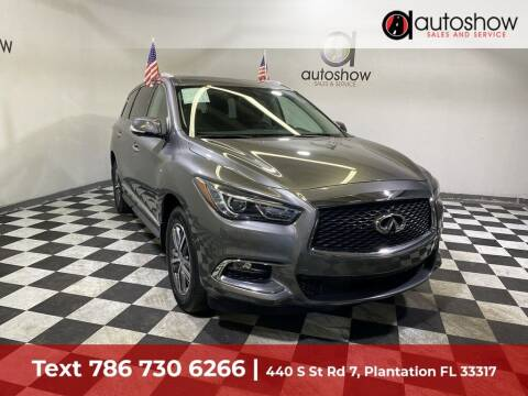 2018 Infiniti QX60 for sale at AUTOSHOW SALES & SERVICE in Plantation FL