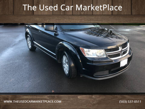 2016 Dodge Journey for sale at The Used Car MarketPlace in Newberg OR
