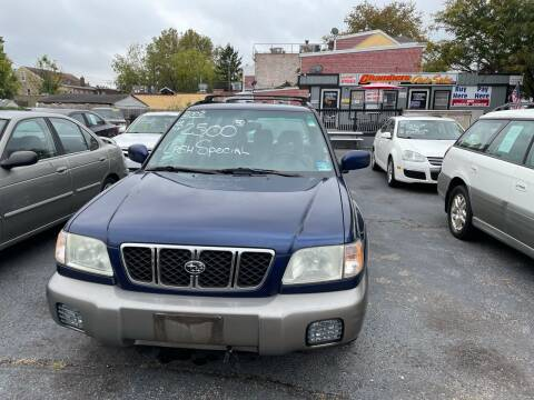 2002 Subaru Forester for sale at Chambers Auto Sales LLC in Trenton NJ