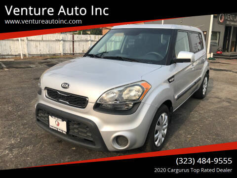 2013 Kia Soul for sale at Venture Auto Inc in South Gate CA