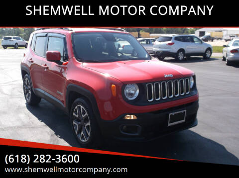 2015 Jeep Renegade for sale at SHEMWELL MOTOR COMPANY in Red Bud IL