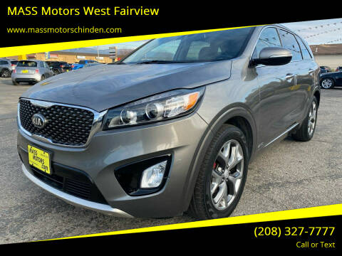 2017 Kia Sorento for sale at MASS Motors West Fairview in Boise ID