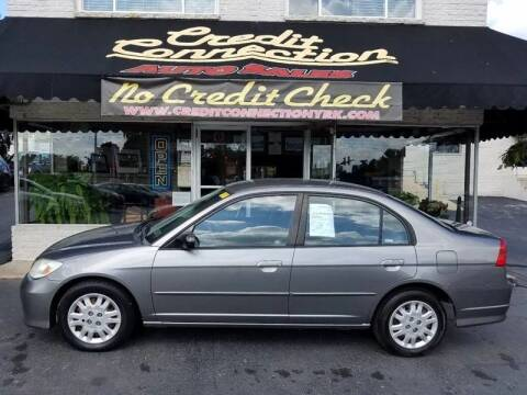 2005 Honda Civic for sale at Credit Connection Auto Sales Inc. YORK in York PA