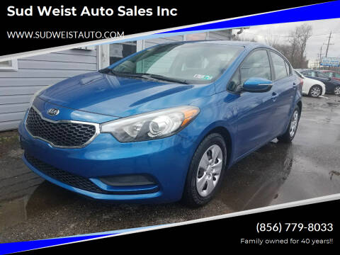 2015 Kia Forte for sale at Sud Weist Auto Sales Inc in Maple Shade NJ