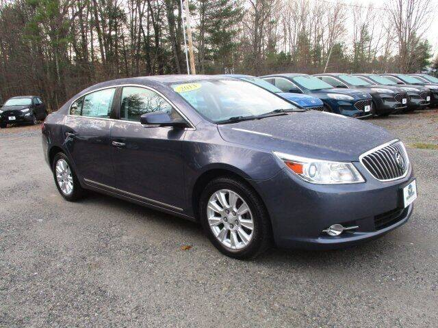 2013 Buick LaCrosse for sale at MC FARLAND FORD in Exeter NH