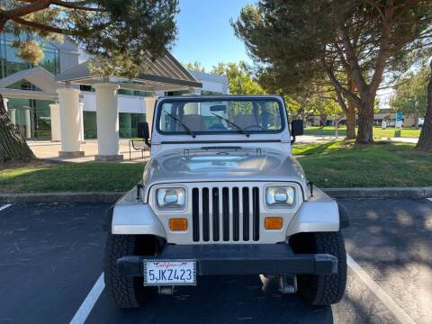 1995 Jeep Wrangler for sale at Hi5 Auto in Fremont CA