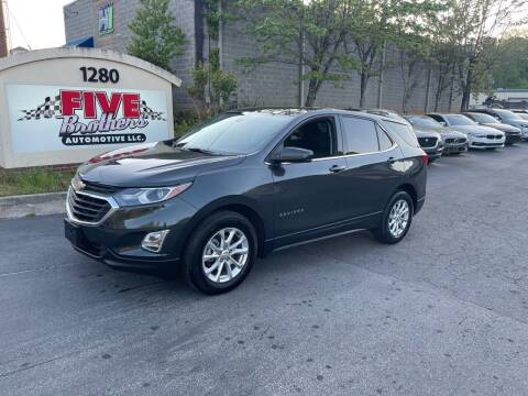 2020 Chevrolet Equinox for sale at Five Brothers Auto Sales in Roswell GA