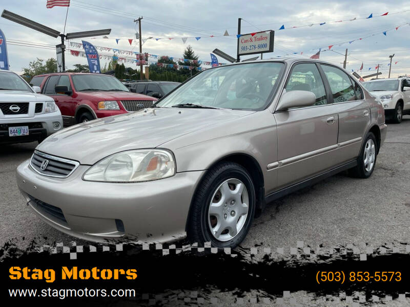 2000 Honda Civic for sale at Stag Motors in Portland OR