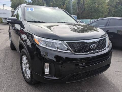 2014 Kia Sorento for sale at GREAT DEALS ON WHEELS in Michigan City IN