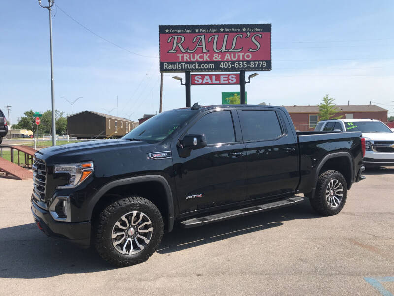 2020 GMC Sierra 1500 for sale at RAUL'S TRUCK & AUTO SALES, INC in Oklahoma City OK