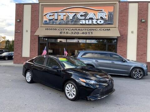 2019 Toyota Camry for sale at CITY CAR AUTO INC in Nashville TN