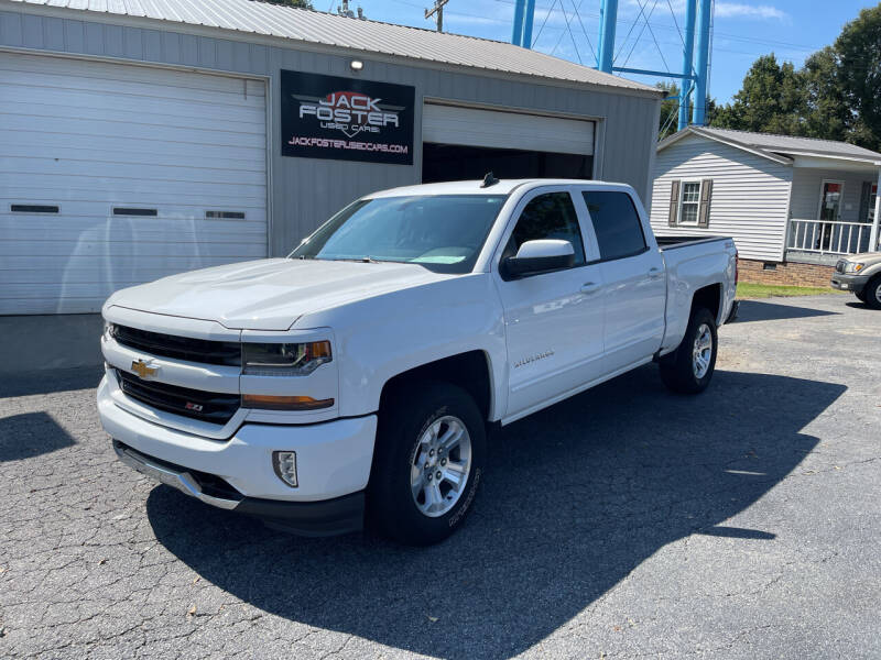 2016 Chevrolet Silverado 1500 for sale at Jack Foster Used Cars LLC in Honea Path SC