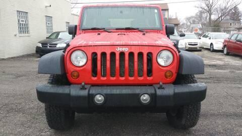 2008 Jeep Wrangler Unlimited for sale at Jarvis Motors in Hazel Park MI