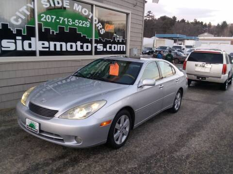 2005 Lexus ES 330 for sale at CITY SIDE MOTORS in Auburn ME