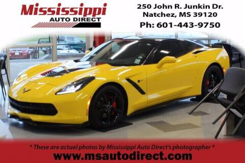 2014 Chevrolet Corvette for sale at Auto Group South - Mississippi Auto Direct in Natchez MS