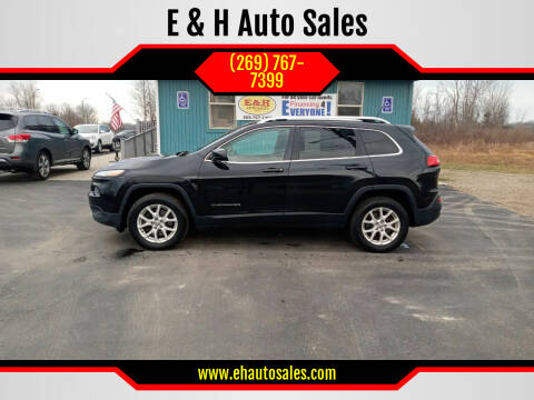 2014 Jeep Cherokee for sale at E & H Auto Sales in South Haven MI