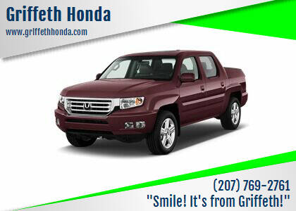 2013 Honda Ridgeline for sale at Griffeth Honda - Pre Owned in Presque Isle ME