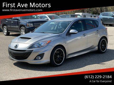 2012 Mazda MAZDASPEED3 for sale at First Ave Motors in Shakopee MN