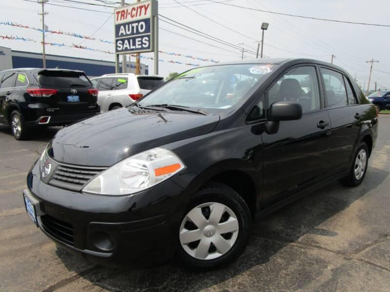 2009 Nissan Versa for sale at TRI CITY AUTO SALES LLC in Menasha WI