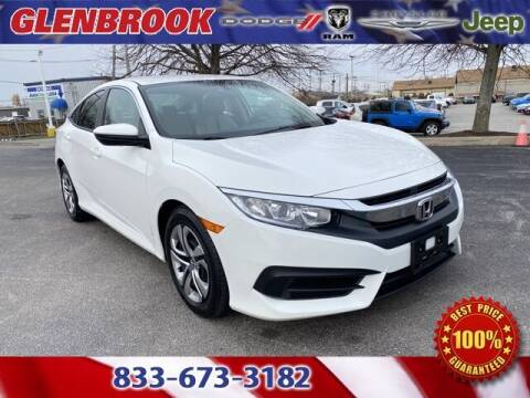 2016 Honda Civic for sale at Glenbrook Dodge Chrysler Jeep Ram and Fiat in Fort Wayne IN