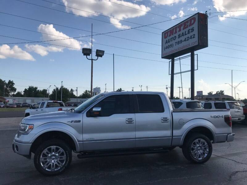 2013 Ford F-150 for sale at United Auto Sales in Oklahoma City OK