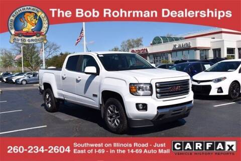2017 GMC Canyon for sale at BOB ROHRMAN FORT WAYNE TOYOTA in Fort Wayne IN