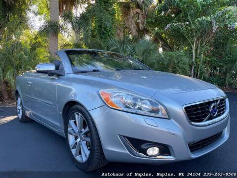 2013 Volvo C70 for sale at Autohaus of Naples in Naples FL