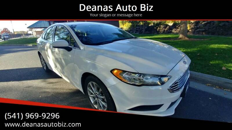 2017 Ford Fusion for sale at Deanas Auto Biz in Pendleton OR