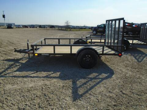 2021 H&H 76X10 UTILITY for sale at PREFERRED AUTO SALES in Lockridge IA