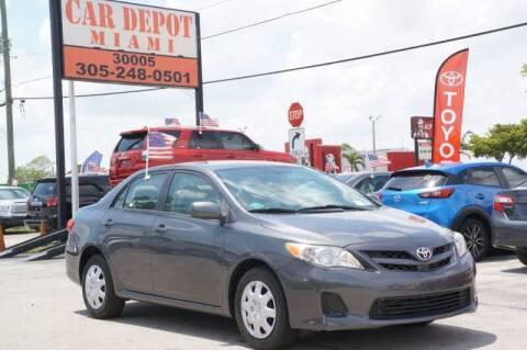 2011 Toyota Corolla for sale at Car Depot in Miramar FL