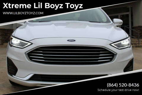 2019 Ford Fusion for sale at Xtreme Lil Boyz Toyz in Greenville SC